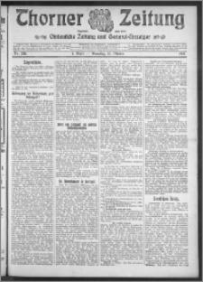 Thorner Zeitung 1910, Nr. 238 1 Blatt