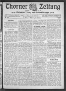 Thorner Zeitung 1910, Nr. 239 1 Blatt