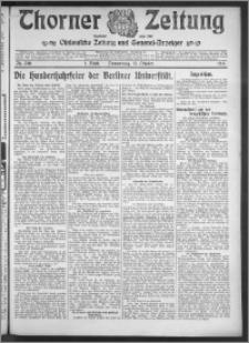 Thorner Zeitung 1910, Nr. 240 1 Blatt