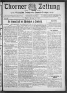 Thorner Zeitung 1910, Nr. 241 1 Blatt