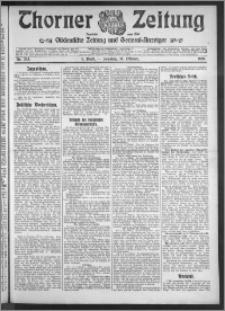 Thorner Zeitung 1910, Nr. 243 1 Blatt