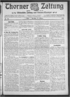 Thorner Zeitung 1910, Nr. 244 1 Blatt