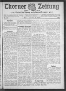 Thorner Zeitung 1910, Nr. 248 1 Blatt
