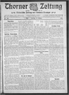 Thorner Zeitung 1910, Nr. 249 1 Blatt