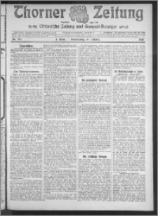 Thorner Zeitung 1910, Nr. 252 1 Blatt