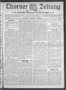 Thorner Zeitung 1910, Nr. 256 1 Blatt