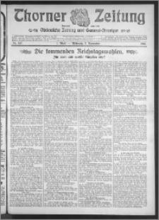 Thorner Zeitung 1910, Nr. 257 1 Blatt