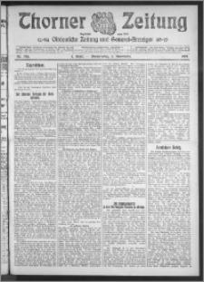 Thorner Zeitung 1910, Nr. 258 1 Blatt