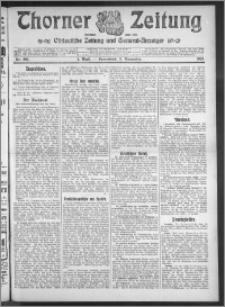 Thorner Zeitung 1910, Nr. 260 1 Blatt