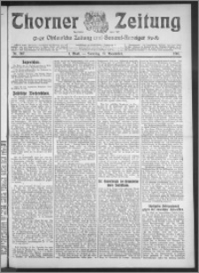Thorner Zeitung 1910, Nr. 267 1 Blatt