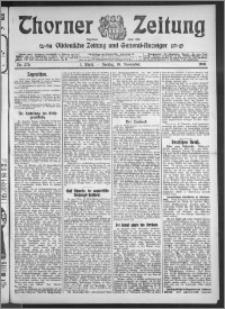 Thorner Zeitung 1910, Nr. 270 1 Blatt
