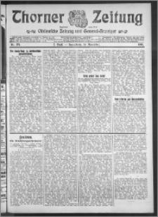 Thorner Zeitung 1910, Nr. 271 2 Blatt