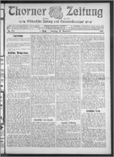 Thorner Zeitung 1910, Nr. 272 1 Blatt