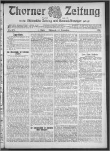 Thorner Zeitung 1910, Nr. 274 1 Blatt