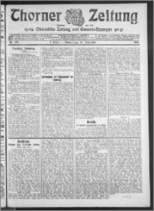 Thorner Zeitung 1910, Nr. 275 2 Blatt