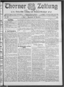 Thorner Zeitung 1910, Nr. 277 1 Blatt