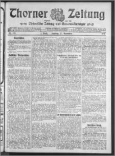 Thorner Zeitung 1910, Nr. 278 1 Blatt