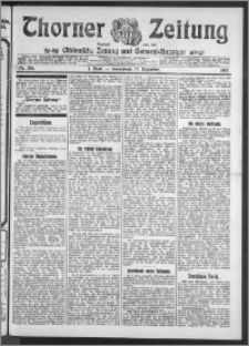 Thorner Zeitung 1910, Nr. 295 1 Blatt