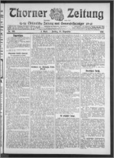 Thorner Zeitung 1910, Nr. 300 1 Blatt