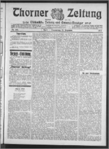 Thorner Zeitung 1910, Nr. 304 1 Blatt