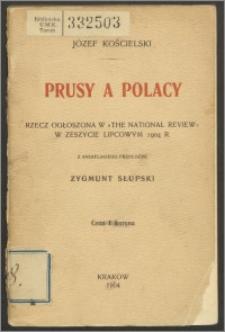 Prusy a Polacy