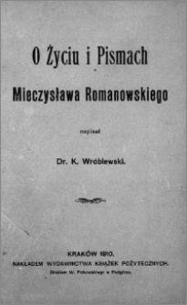 O Mieczysławie Romanowskim