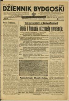Dziennik Bydgoski, 1939, R.33, nr 87
