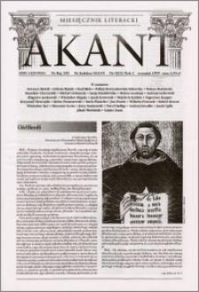 Akant : miesięcznik literacki 1999 R.2 nr 9(22)