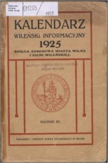 Kalendarz Wileński Informacyjny R. 20 (1925)