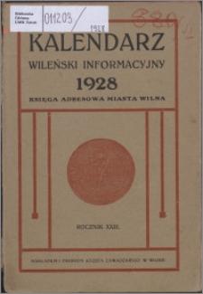 Kalendarz Wileński Informacyjny R. 23 (1928)