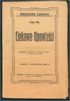 Ciekawe Opowieści T. 7 (kwiecień 1931)