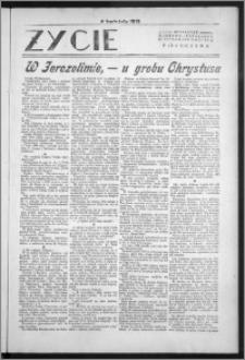 Życie : bezpłatny naukowo - popularny ilustrowany dodatek Pielgrzyma, 4 kwietnia 1931
