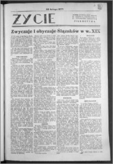 Życie : bezpłatny naukowo - popularny ilustrowany dodatek Pielgrzyma, 28 lutego 1932