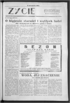 Życie : bezpłatny naukowo - popularny ilustrowany dodatek Pielgrzyma, 11 września 1932