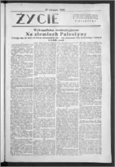 Życie : bezpłatny naukowo - popularny ilustrowany dodatek Pielgrzyma, 23 października 1932