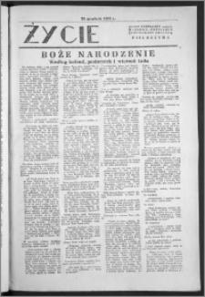 Życie : bezpłatny naukowo - popularny ilustrowany dodatek Pielgrzyma, 25 grudnia 1932
