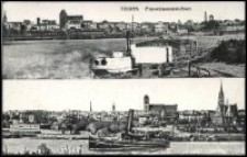 Toruń - panoramy - Thorn. Panoramenansichten