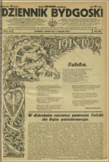Dziennik Bydgoski, 1928, R.22, nr 261