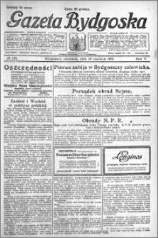 Gazeta Bydgoska 1926.06.20 R.5 nr 139
