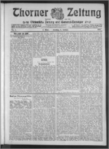 Thorner Zeitung 1911, Nr. 1 2 Blatt