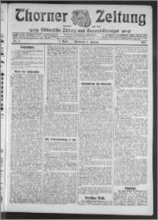 Thorner Zeitung 1911, Nr. 3 1 Blatt