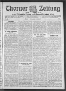 Thorner Zeitung 1911, Nr. 6 1 Blatt