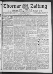 Thorner Zeitung 1911, Nr. 7 3 Blatt
