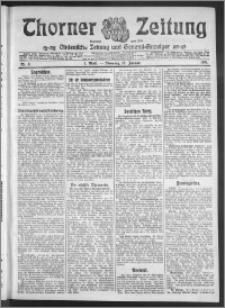 Thorner Zeitung 1911, Nr. 8 1 Blatt