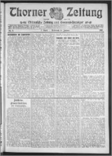 Thorner Zeitung 1911, Nr. 9 2 Blatt