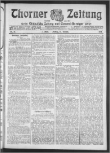 Thorner Zeitung 1911, Nr. 11 2 Blatt