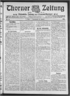 Thorner Zeitung 1911, Nr. 12 1 Blatt