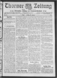Thorner Zeitung 1911, Nr. 17 1 Blatt