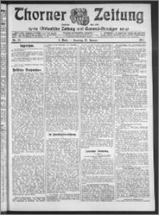 Thorner Zeitung 1911, Nr. 19 1 Blatt
