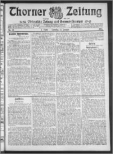 Thorner Zeitung 1911, Nr. 19 2 Blatt